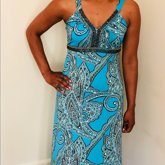 INC International Concepts Dresses & Skirts - Blue long dress